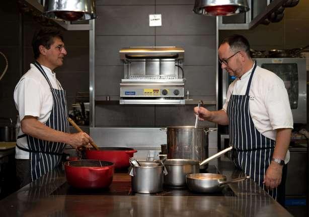 Jérôme, second de cuisine chez Gill